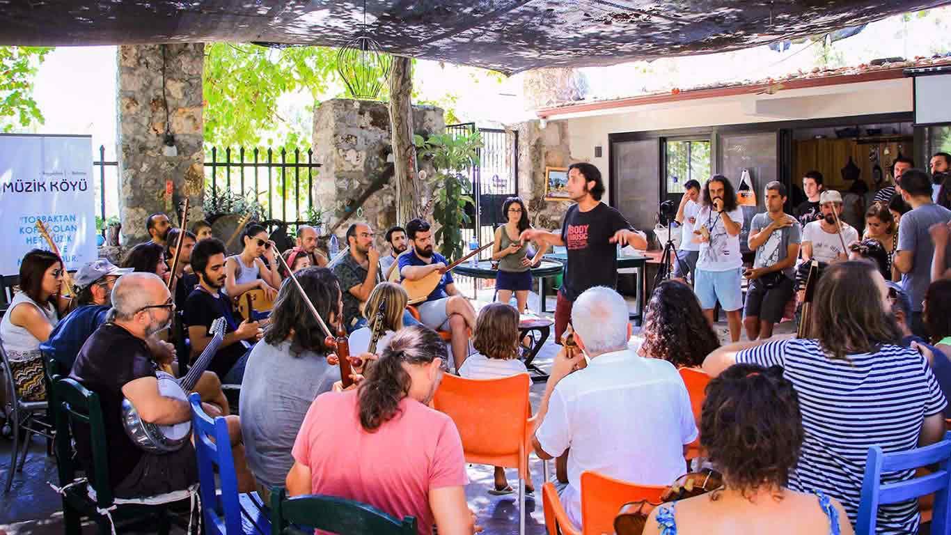 müzik köyü, anadolu, müzik, kültür, akad
